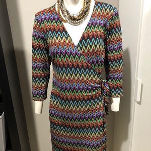 SOHO wrap dress